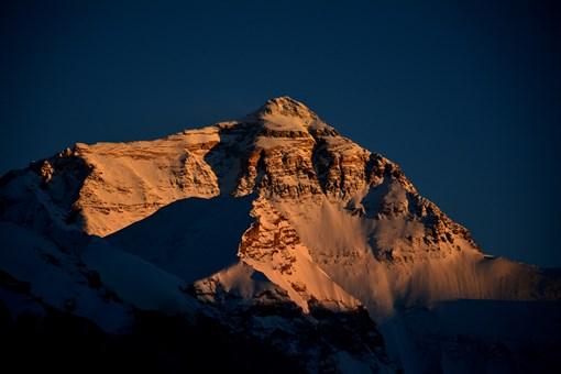 珠穆朗玛峰海拔多少米