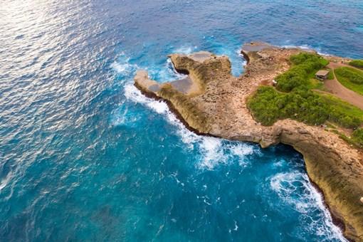 印尼两座小岛消失