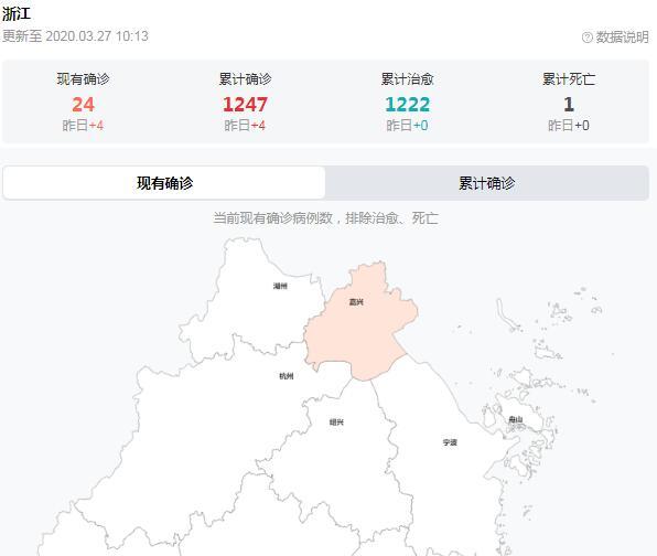 浙江新增1例本土病例