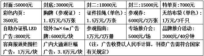义乌电商博览会会刊及其它广告