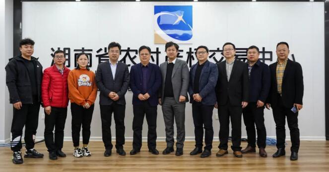 江西省豐城市副市長孫萬榮參觀考察土流集團