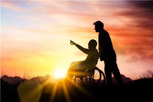 2021年残疾人每月补贴提高-摄图网
