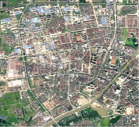 陕西省:农村土地确权卫星影像底图制作完成图片
