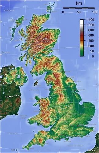 英国土地面积和特点概述