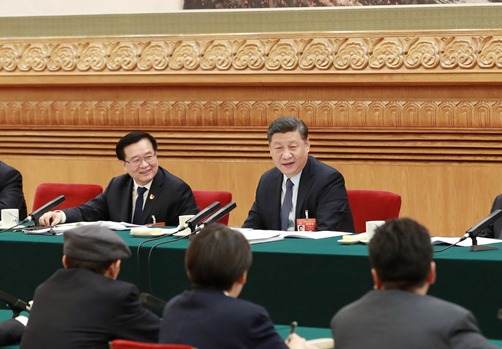 习近平总书记参加河南代表团审议:大有可为的土地 充满希望的田野