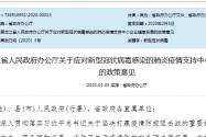 黑龙江省给予企业财税政策支持,支持中小企业应对肺炎疫情!(附全文)