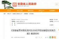 《安徽省贯彻落实淮河生态经济带发展规划实施方案》解读材料