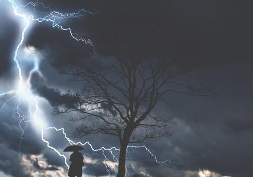 雷雨天气的影响