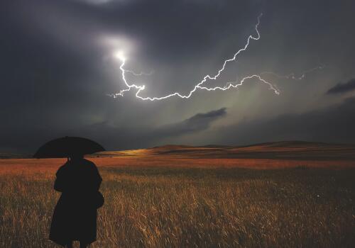雷雨天气的好处