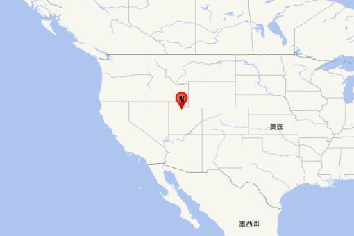 美国犹他州地震
