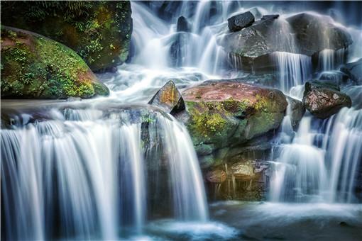 大叠水瀑布-摄图网