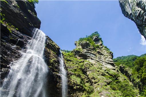 庐山瀑布-摄图网