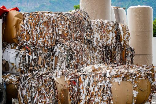廢紙打包-攝圖網