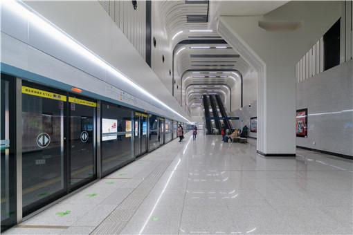 鄭州地鐵4號線成水簾洞-攝圖網
