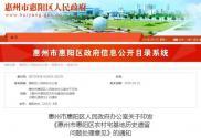2019年广东惠州惠阳区农村宅基地历史遗留问题处理意见
