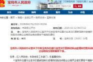 2020陜西寶雞樓市新政:爭取降低首套房首付比例,公積金貸款額度提高至50萬!