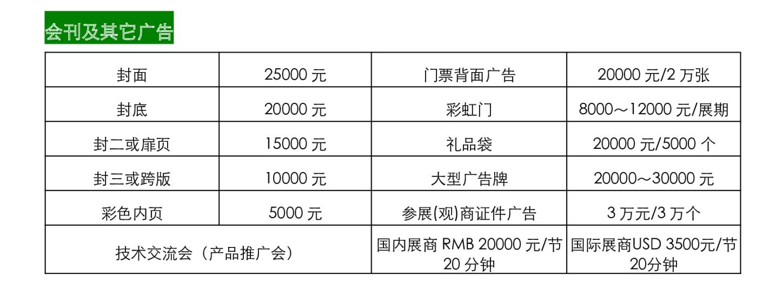 2020广州住博会会刊及其它广告